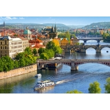 Puzzle 500 el. View of Bridges in Prague