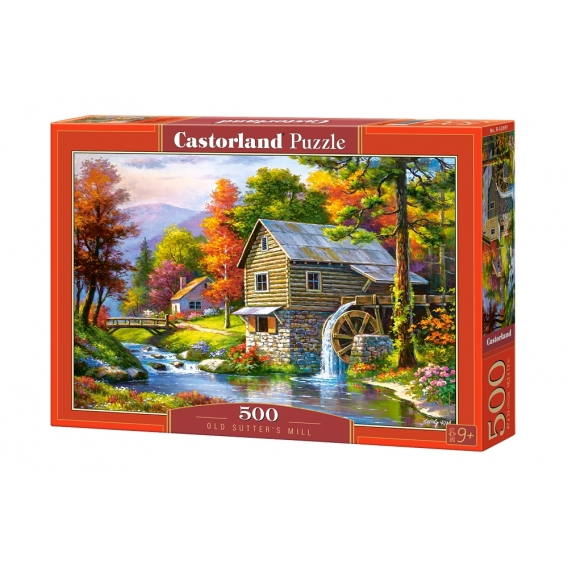 Puzzle 500 el. Old Sutter's Mill