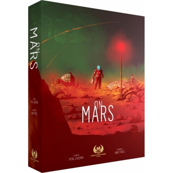 On Mars (KS Deluxe edition - edycja polska) Crowdfunding Eagle Games