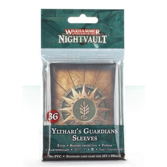 Warhammer Underworlds: Nightvault – Ylthari's Guardians Sleeves Warhammer Underworlds Games Workshop