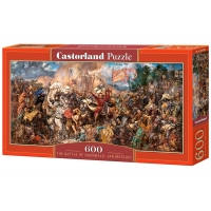 Puzzle 600 el. Bitwa pod Grundwaldem - Jan Matejko