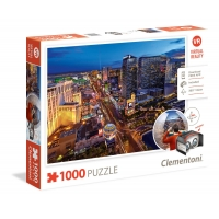Puzzle 1000 el. Las Vegas - Virtual Reality