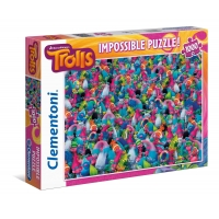 Puzzle 1000 el. Trolle - Impossible