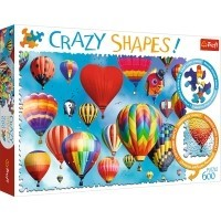Puzzle 600 el. Kolorowe balony - Crazy Shapes