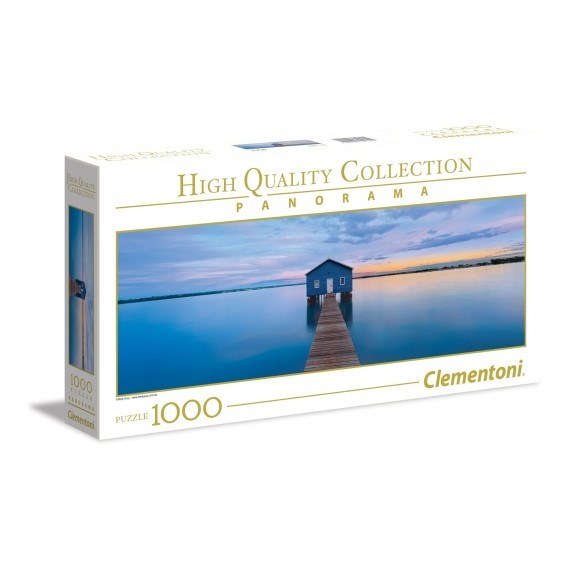 Puzzle 1000 el. Blue Calm - Panorama High Quality Collection