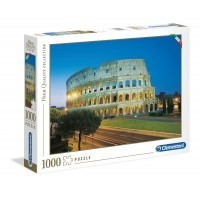 Puzzle 1000 el. Roma - Colosseo - High Quality Collection High Quality Collection Clementoni
