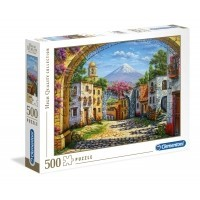 Puzzle 500 el. The Volcano - High Quality Collection High Quality Collection Clementoni