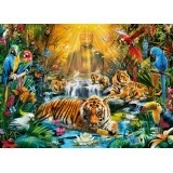Puzzle 1000 el. Mystic Tigers - High Quality Collection