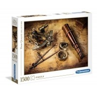 Puzzle 1500 el. Course to the treasure - High Quality Collection High Quality Collection Clementoni