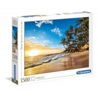 Puzzle 1500 el. Tropical sunrise - High Quality Collection High Quality Collection Clementoni