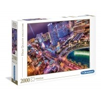 Puzzle 2000 el. Las Vegas - High Quality Collection High Quality Collection Clementoni