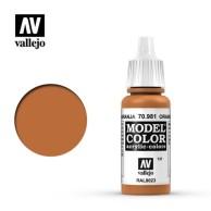 Farba Vallejo Model Color 131 - 981-17 ml. Orange Brown