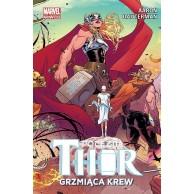 Potężna Thor. Grzmiąca krew. Tom 1 Komiksy z uniwersum Marvela Egmont