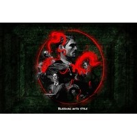 Vampire: the Eternal Struggle - The Gathering – Playmat Vampire: the Eternal Struggle Black Chantry Production