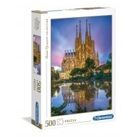 Puzzle 500 el. Barcelona - High Quality Collection