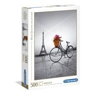 Puzzle 500 el. Romantic promenade in Paris - High Quality Collection High Quality Collection Clementoni