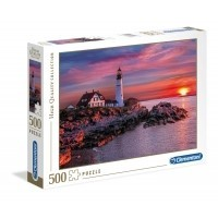 Puzzle 500 el. Portland Head Light - High Quality Collection