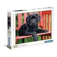 Puzzle 500 el. The Black dog - High Quality Collection