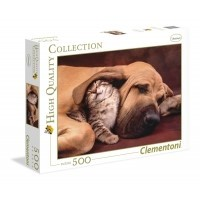 Puzzle 500 el. Cuddles - High Quality Collection High Quality Collection Clementoni