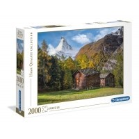 Puzzle 2000 el. Fascination with Matterhorn - High Quality Collection High Quality Collection Clementoni