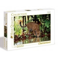 Puzzle 2000 el. Leopard - High Quality Collection High Quality Collection Clementoni