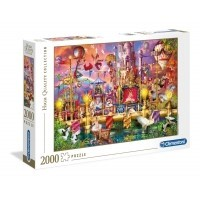 Puzzle 2000 el. Cyrk- High Quality Collection
