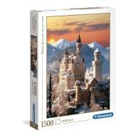 Puzzle 1500 el. Neuschwanstein - High Quality Collection High Quality Collection Clementoni