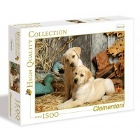 Puzzle 1500 el. Hunting dogs - High Quality Collection