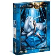 Puzzle 1000 el. Blue Moon - Anne Stokes Collection Anne Stokes Collection Clementoni