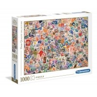 Puzzle 1000 el. Znaczki - High Quality Collection
