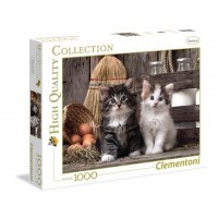 Puzzle 1000 el. Lovely kittens - High Quality Collection High Quality Collection Clementoni