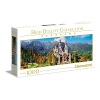 Puzzle 1000 el. Neuschwanstein - Panorama High Quality Collection