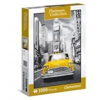 Puzzle 1000 el. New York taxi - Platinum Collection