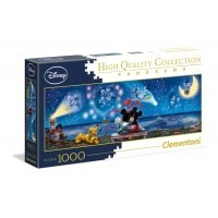 Puzzle 1000 el. Disney Classic - Mickey & Minnie - Panorama High Quality Collection