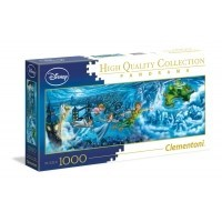 Puzzle 1000 el. Disney Classic - Piotruś Pan - Panorama High Quality Collection
