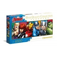 Puzzle 1000 el. Marvel Avengers - Panorama High Quality Collection