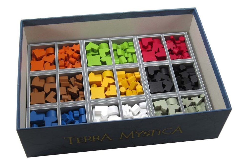 Folded Space: organizer do gry Terra Mystica
