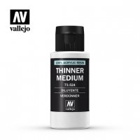 Vallejo 73524 Thinner Medium 60 ml Dodatki do farb Vallejo