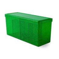 Dragon Shield Four-Compartment Box - Emerald Arcane Tinmen Arcane Tinmen