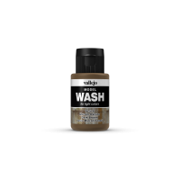 Vallejo Model Wash 35 ml. Dark Brown Wash Washe Vallejo