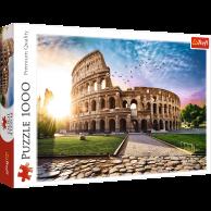 Puzzle 1000 el. Koloseum w promieniach słońca Pejzaże Trefl