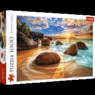Puzzle 1000 el. Plaża Samudra, Indie Pejzaże Trefl
