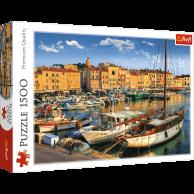 Puzzle 1500 el. Stary Port w Saint Tropez