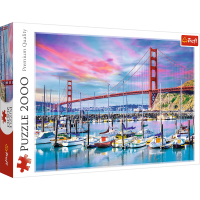 Puzzle 2000 el. Golden Gate, San Francisco