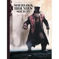 Sherlock Holmes Society. Czarne są ich dusze. Tom 2 Komiksy kryminalne Egmont