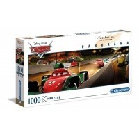 Puzzle 1000 el. Auta - Panorama High Quality Collection Panorama Clementoni