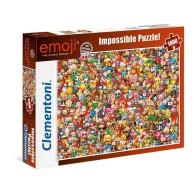 Puzzle 1000 el. Emoji - Impossible Impossible Puzzle Clementoni