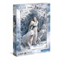 Puzzle 1000 el. Winter Guardian - Anne Stokes Collection