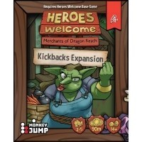Heroes Welcome: Kickbacks Expansion Dodatki do Gier Planszowych Pencil First Games, LLC
