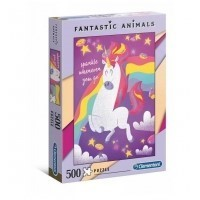 Puzzle 500 el. Fantastic animals Unicorn